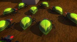 Alien Bug Swarm