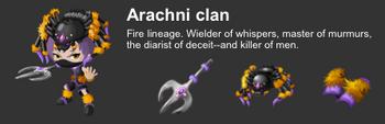Arachni Clan event descript