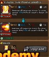 Kinjutsu Fire Phoenix Breath II Upgrade