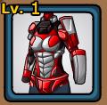 Mech Ninja Set (Red) Female