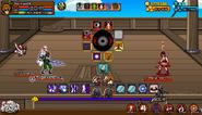 Attack from Ninja Pirates - Battle 02