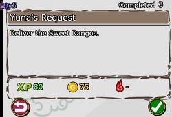 Yuna's Request