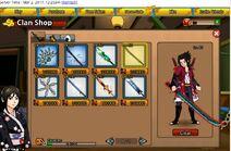 Clan Shop