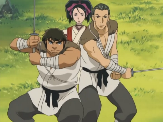 File:Taroza and Jiroza protecting Shigure.png