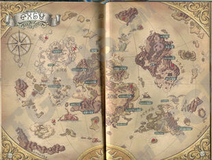 World map japanese jp