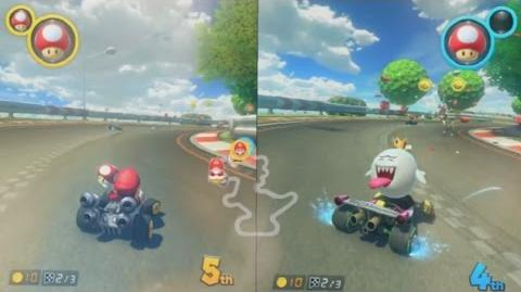 Mario Kart 8 for Switch - First Look, Zoomed In, Slowed Down