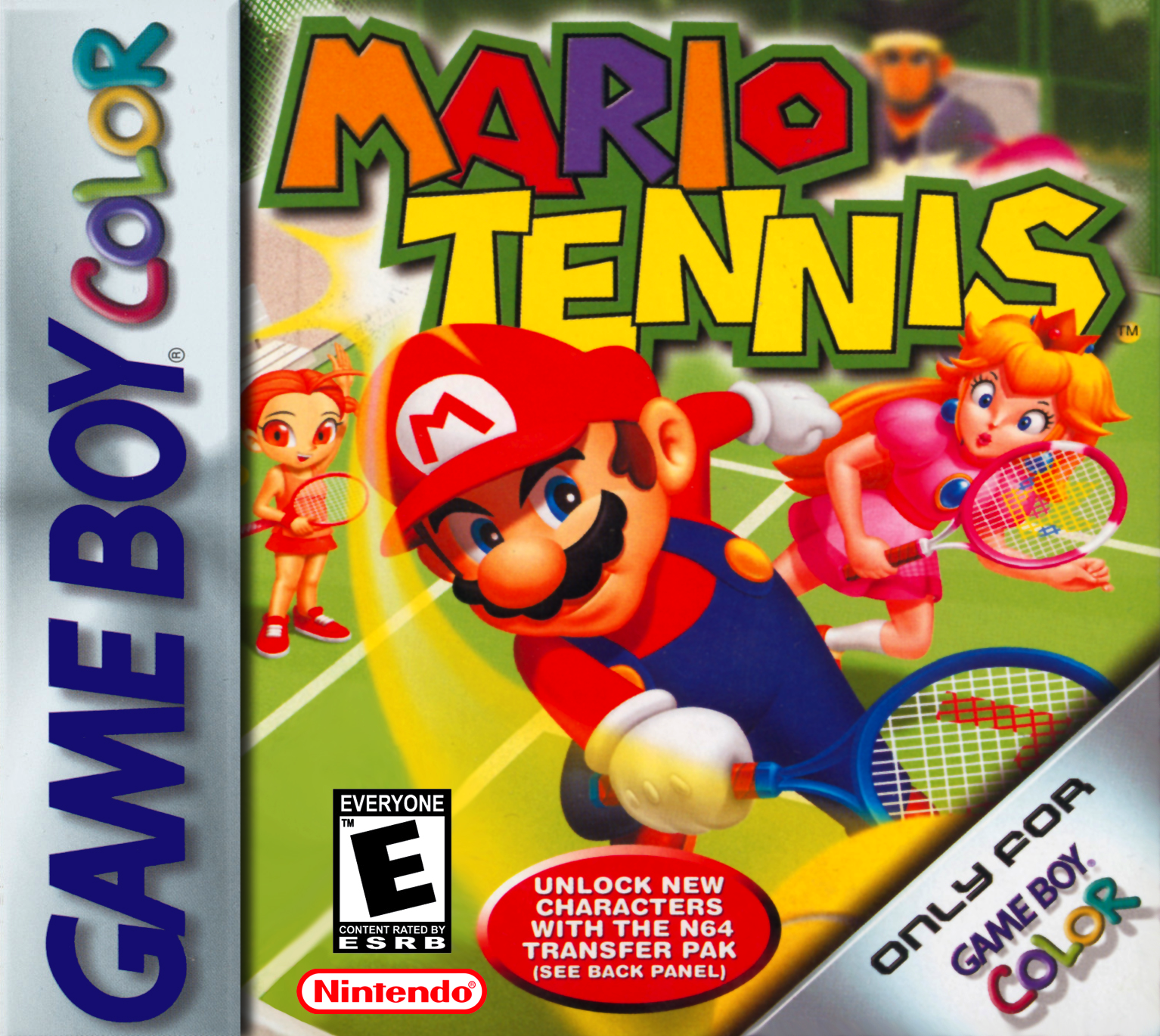 Gameboy color and advance rpg games - Mario Tennis Gbc Na
