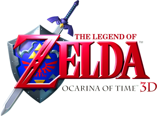 File:Ocarina of Time 3D logo.png