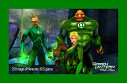 Green Lantern 3DS screenshot 3