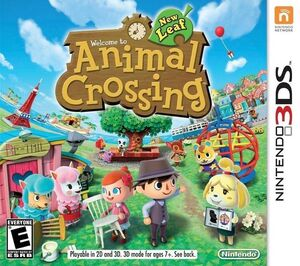 Animal Crossing New Leaf box art