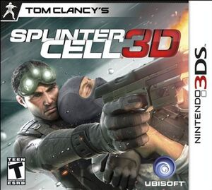 Tom Clancy's Splinter Cell 3D cover