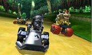 Metal Bee Bowser Race