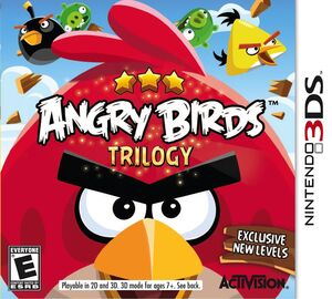 Angry Birds Trilogy box art