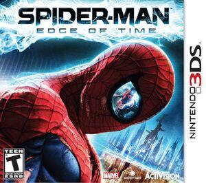 Spider-Man Edge of Time box art