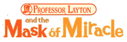 Professor Layton and the Mask of Miracle logo