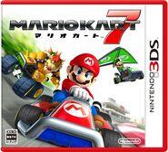 Mario Kart 7 JP box art