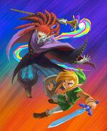 ALBW Link vs. Yuga art