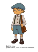 Luke Triton (Professor Layton VS Ace Attorney)