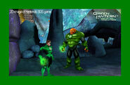 Green Lantern 3DS screenshot 5