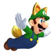 Raccoon Luigi (New Super Mario Bros. 2)