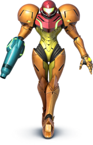 Samus - Super Smash Bros.