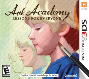 Art Academy Lessons for Everyone! box art