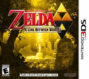 The Legend of Zelda A Link Between Worlds box art