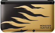 Nintendo 3DS XL Monster Hunter 4 Rajang Gold