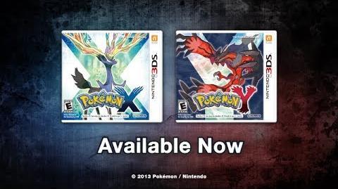 Pokémon X and Y - Launch trailer