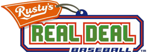 Rusty's Real Deal Baseball logo