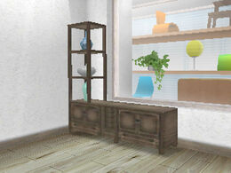 Displayshelves