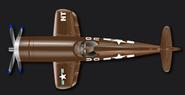 Brown corsair