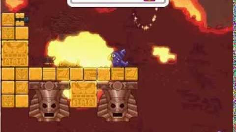Nitrome avatars - Temple Glider (Zombies avatar)