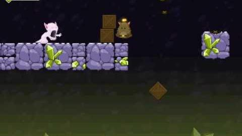 Nitrome Cave Chaos Level 3