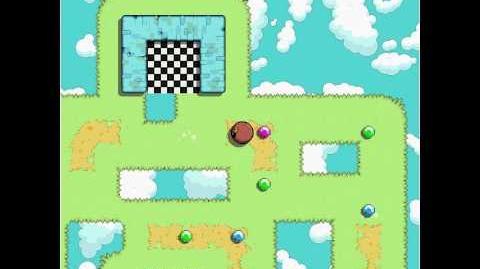 Fluffball - level 12 (all gems) keyboard