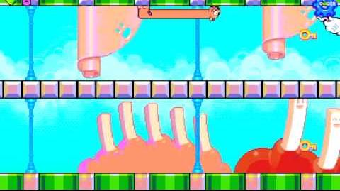 Silly Sausage in Meat Land - level 17