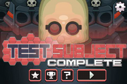 NT Test Subject Complete Menu