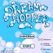 Dream Hopper menu