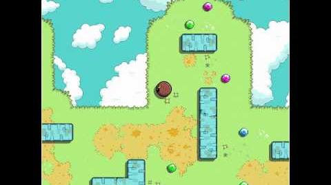 Fluffball - level 3 (all gems) keyboard