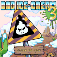 Bad Ice Cream 3 menu