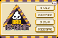 Bad Ice-Cream Titlescreen