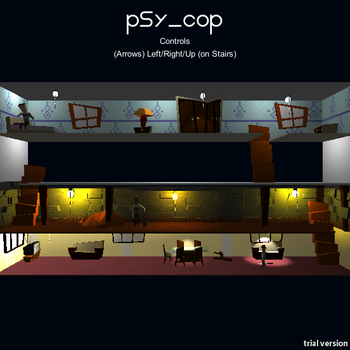 Psy cop screenshot