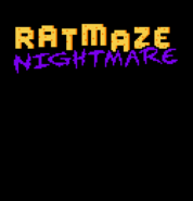Ratmaze Nightmare menu