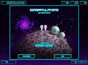 Space Hopper End Screen