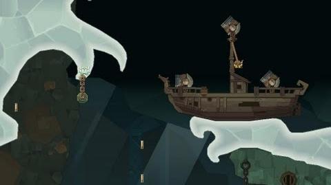 Icebreaker Under Dwell Level 7A Shipwreck