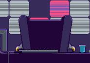 Nitrome Boss in chair