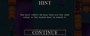 Key hint 2