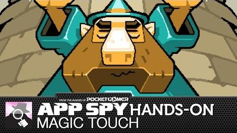 Magic Touch Wizard For Hire iOS iPhone iPad Hands-On - AppSpy