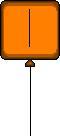 ET Orange Balloon
