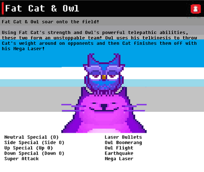 SSN Fat Cat & Owl